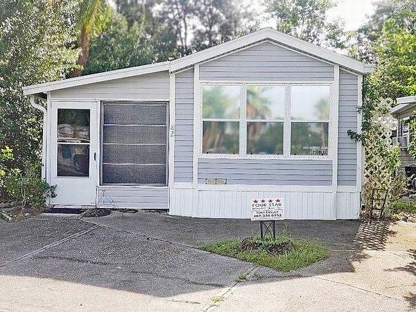5300 W Irlo Bronson Memorial, Lot 82, Kissimmee FL 34746 Sherwood Village Mobile Home X on