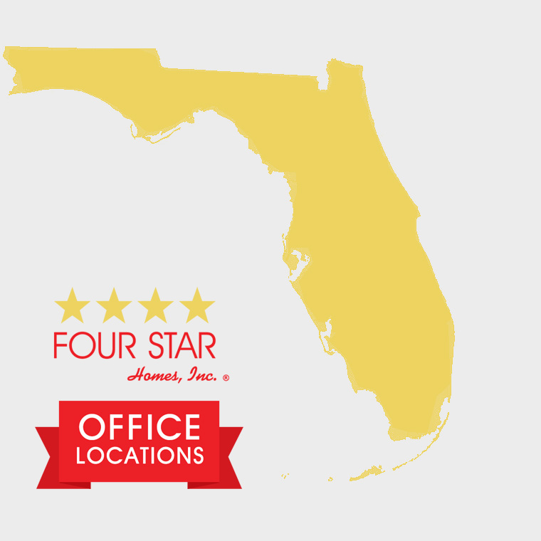 Four Star Homes Office Locations in Florida
