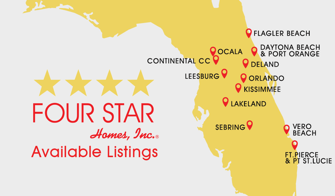 Four Star Homes Available Listings in Florida