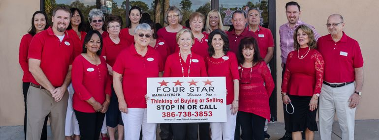 Four Star Homes DeLand Office Staff